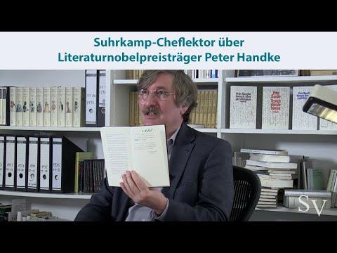 Literaturnobelpreisträger Peter Handke