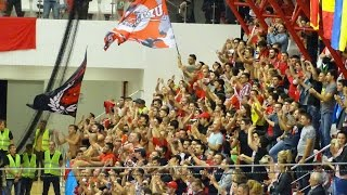 Velux Champions League . Ultimul minut al meciului HC Dinamo v Beskitas Istanbul