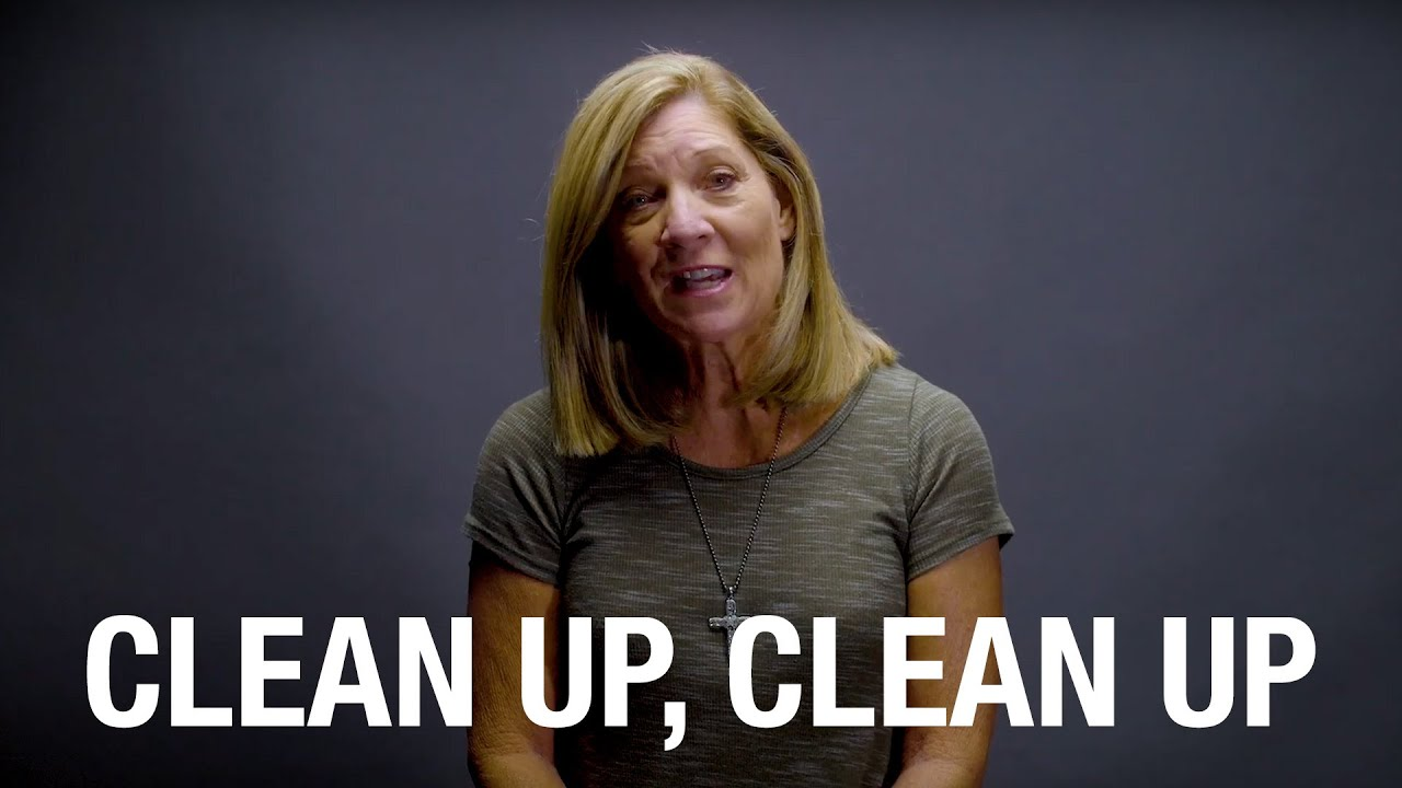 Clean Up, Clean Up | TWO MINUTE TIPS