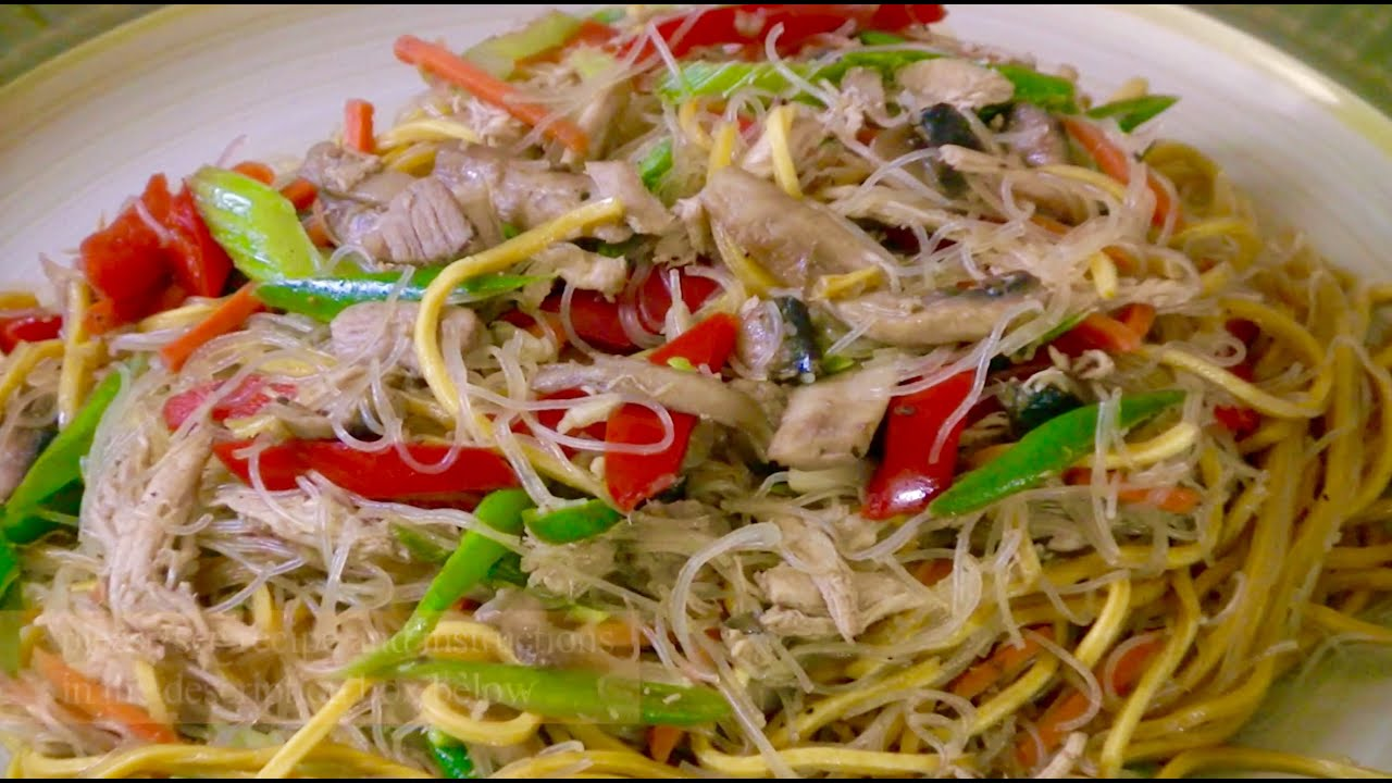 Filipino Pancit Bihon Canton Recipe | Sante Blog