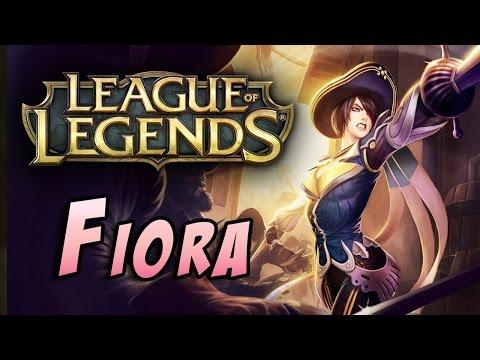 видео: league of legends - Играем ранкед за fiora!
