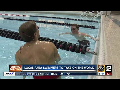 Local para Swimmers to take on the world