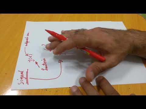 Communication Systems 9: Signals & Systems ما المقصود بالاشارة و تعريف النظام