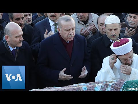 Turkey's Erdogan Visits Site of Earthquake Damage