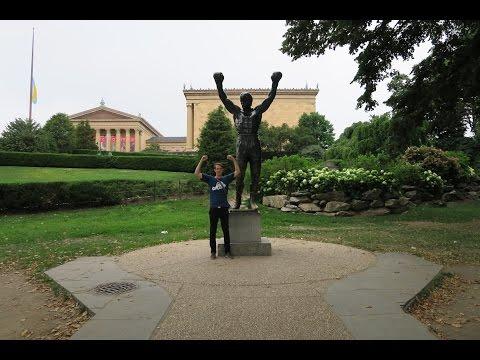 USA-Reise-Vlog #8 Philadelphia, Megabus, Rocky Statue, Unabhängigkeitsglocke