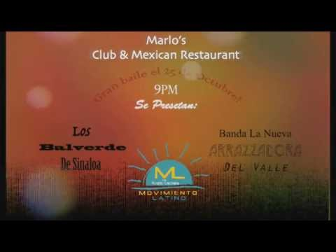 Marlo's Club & Mexican Restaurant Movimiento Latino Show 30s Promo
