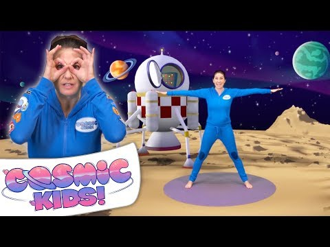Space Stories For Kids | Yoga Space Adventure | Cosmic Kids Yoga