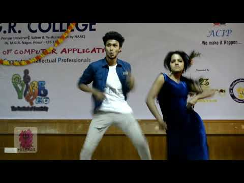 Mani felina dance / mgr college dance program / mgr bca departmentment function