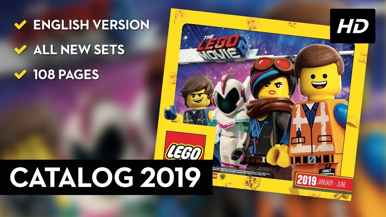 Lego Catalog 2019 All New Lego Sets 108 Pages English Version