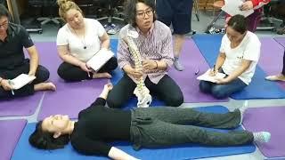Lumbar pain care abdominal massage/허리통증을 위한복부 수기법입니다