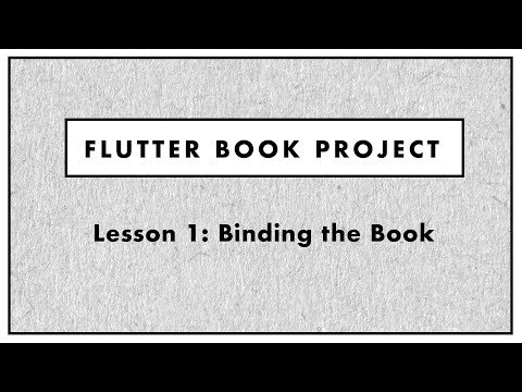 Flutter Book Construction- Lesson 1
