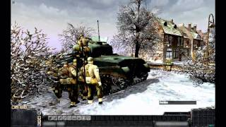 "MEN OF WAR (PC): ""The Siege of Bastogne"" - December 22nd 1944"