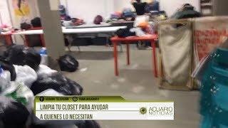 Limpia tu closet para ayudar a quienes lo necesitan