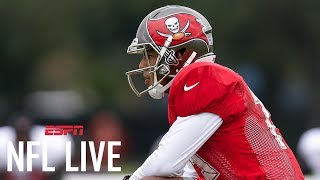 Tim Hasselbeck Sympathizes With Roberto Aguayo Getting Cut On TV | NFL Live | ESPN thumbnail