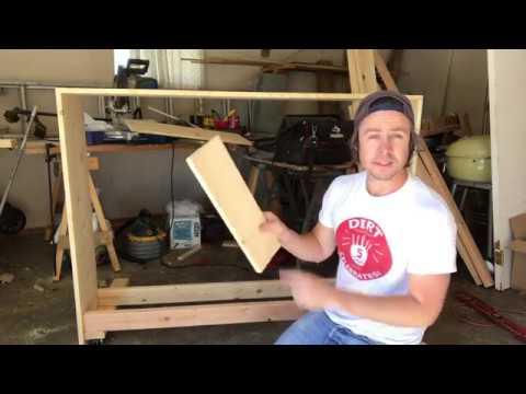 DIY Upright Piano Cabinet For A Keyboard Build