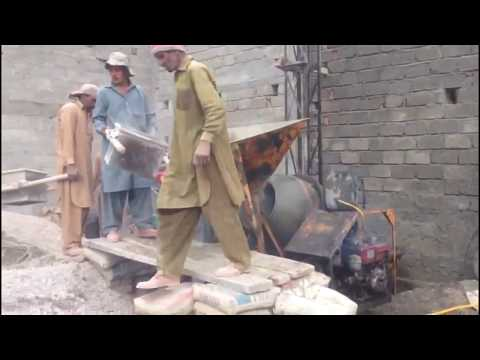 PAKISTANI WORKERS House construction