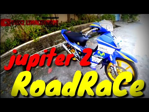 Modifikasi Jupiter Z Semi Roadrace Youtube