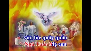 Ngợi Khen Thánh Linh nơi Mẹ Maria  -Karaoke Beat