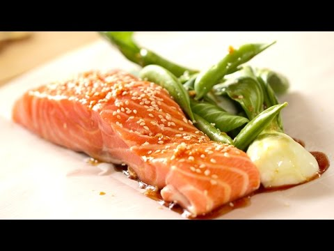 Soy Ginger Salmon Recipe (COLLAB WITH BART'S FISH TALES!)