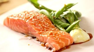 Soy Ginger Salmon Recipe (COLLAB WITH BARTS FISH TALES!)