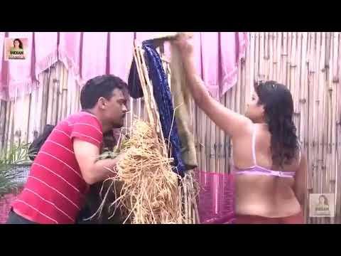 Desi Indian girl/ outdoor bathing/ shoot video thumbnail