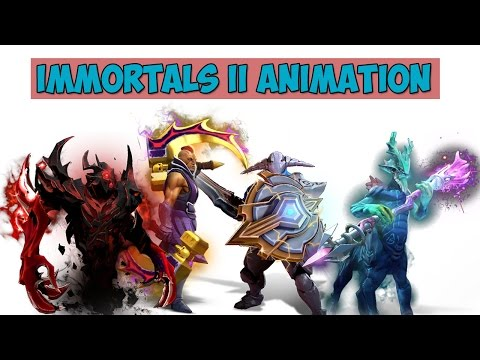 видео: АНИМАЦИИ immortals ii КОМПЕНДИУМ 2015