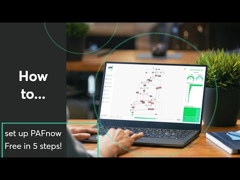 How To Set Up PAFnow Process Mining Visual  In 5 Steps?