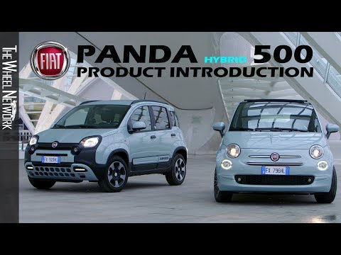 2020 Fiat Panda Hybrid and Fiat 500 Hybrid Product Introduction