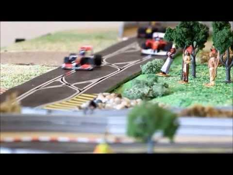 Formula 1 US Grand Prix Circuit of the Americas Austin slot car track