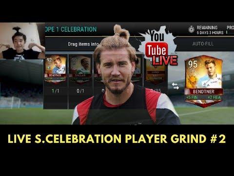 FIFA Mobile Summer Celebration Master Player Grind LIVE #2! Completed 95 OVR Lord Bendtner!