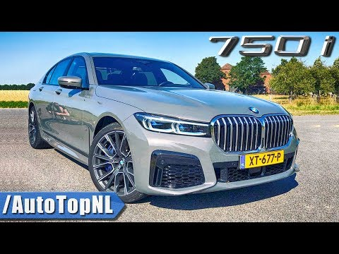 2020 BMW 7 Series 750i 530HP REVIEW on AUTOBAHN (No Speed Limit) by AutoTopNL