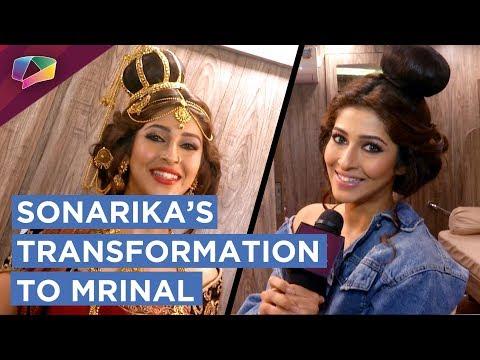 Sonarika Bhadoria Shares Her Make Up Tips | Transformation To Mrinal | Prithvi Vallabh | Sony Tv