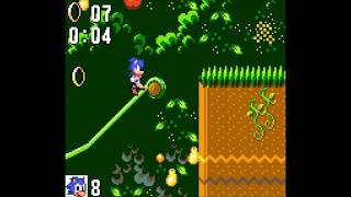 Sonic 1 Game Gear - Jungle 1: 0:20 (Speed Run)