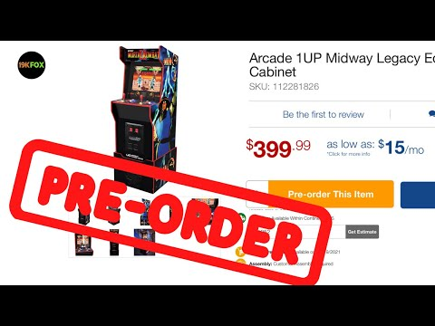 Arcade1up Midway Legacy Preorders Still Available!! New US Seller!! from 19kfox
