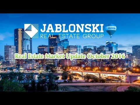 Calgary Real Estate Prices & Market Update, October 2016, Jablonski Real Estate Group