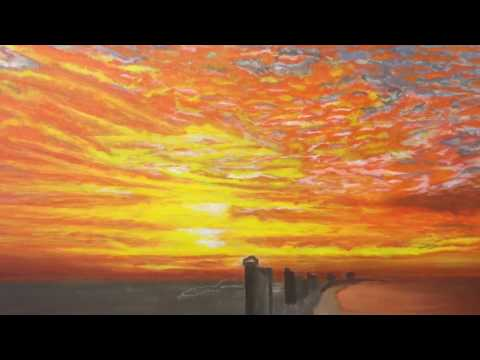 Art Class - Sunny - Sunrise in Panama City - Paint Layers
