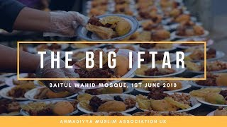 MKA News Ramadhan Special: The Big Iftar - Baitul Wahid, Hounslow South