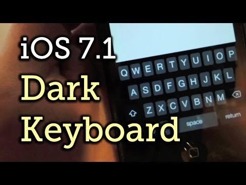 How to get animations on iphone keyboard black