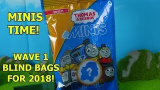 Thomas & Friends Minis Wave 1 Blind Bags for 2018. Shane, Fantasies, & more