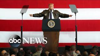 President Trump arrives in Japan