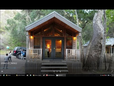 Camping at El Capitan Canyon Campground- Glamping in Goleta Santa Barbara California