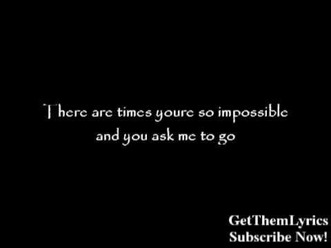 The All-American Rejects - The Wind Blows (Lyrics) - GetThemLyrics