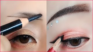 Как наносить макияж глаз Учебники как профессионалы для начинающих Корейский макияж глаз KBea