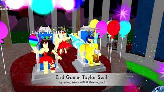 End Game- Taylor Swift - ROBLOX