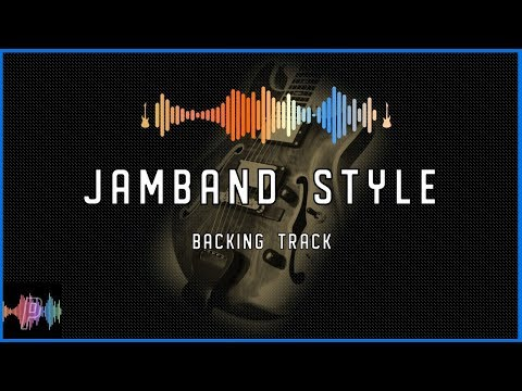 Jamband Style 1-4-5 Backing Track In A Major