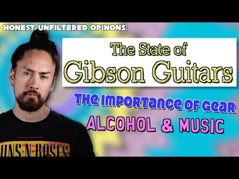 The State of Gibson Guitars   Honest UnFiltered Opinions #6