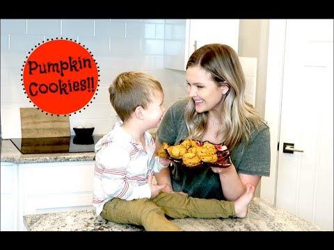 🍪Easy Pumpkin Cookies!!🍪