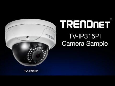 TRENDnet TV-IP315PI Camera Sample