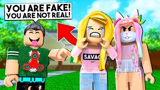 HATER TOLD EVERYONE THAT WE ARE FAKE! (Roblox)