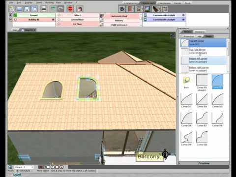 3d home design by livecad tutorials 17 skylight windows youtube. Black Bedroom Furniture Sets. Home Design Ideas